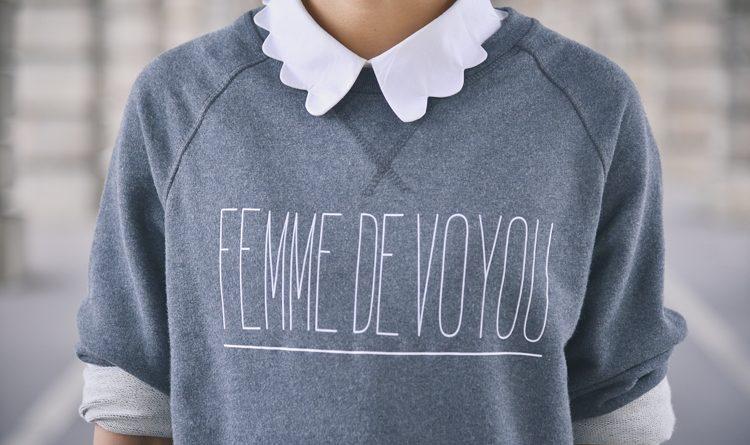 sweatshirt femme de voyou